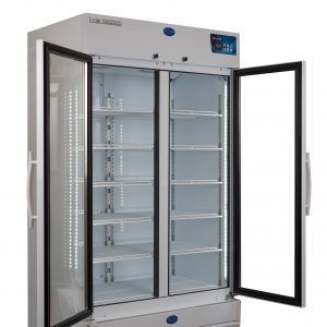 Vacc Safe 1000 Premium Side View Doors Open
